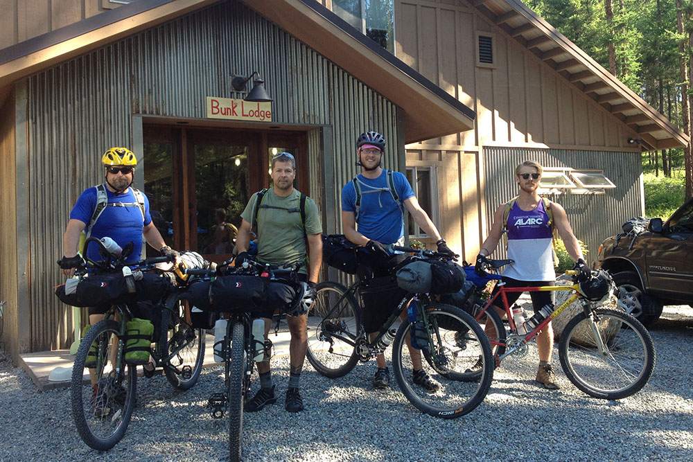 The Whitefish Bike Retreat is a perfect rest stop for bikepacking