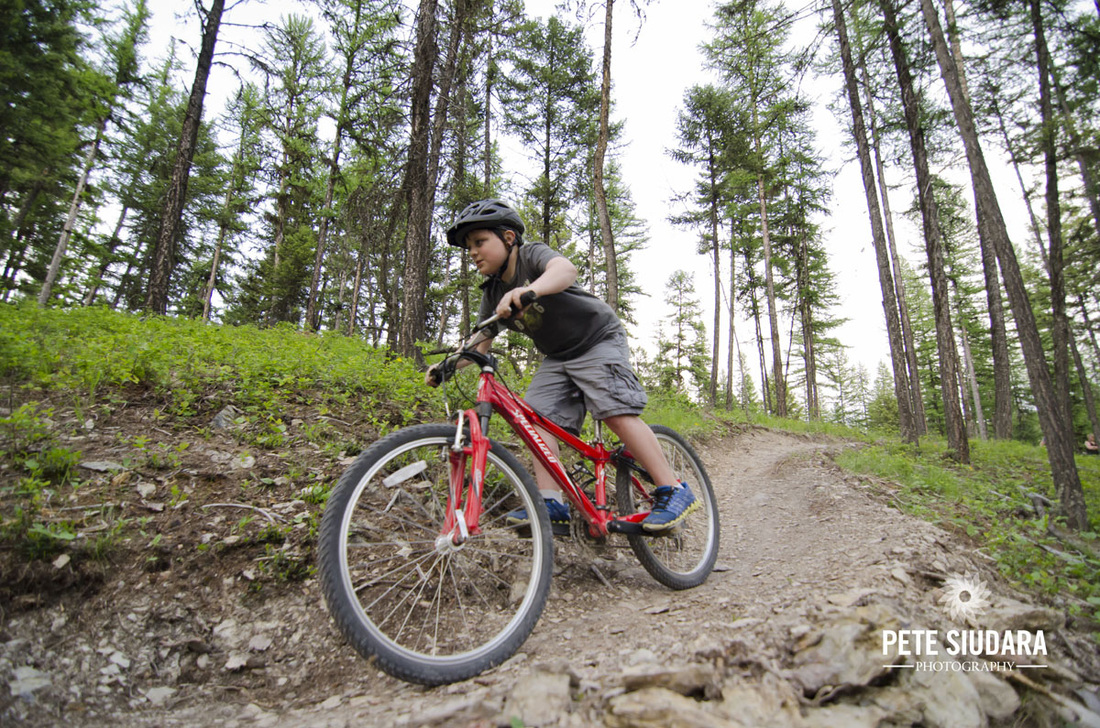 The Whitefish Trail sits adjacent to the Whitefish Bike Retreat