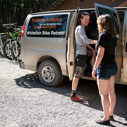 Shuttle Service at the Whitefish Bike Retreat