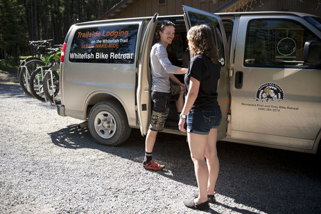 Bike shuttles are available to many locations throughout northwest montana