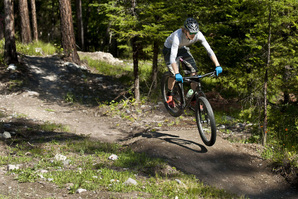 The retreat trails are a great place to warm up before hitting the Whitefish Trail.